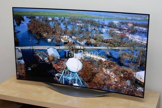 او ال ای دی منحنی سه بعدی فول اچ دی ال جی LG SMART TV OLED 3D FULL HD 55EC930