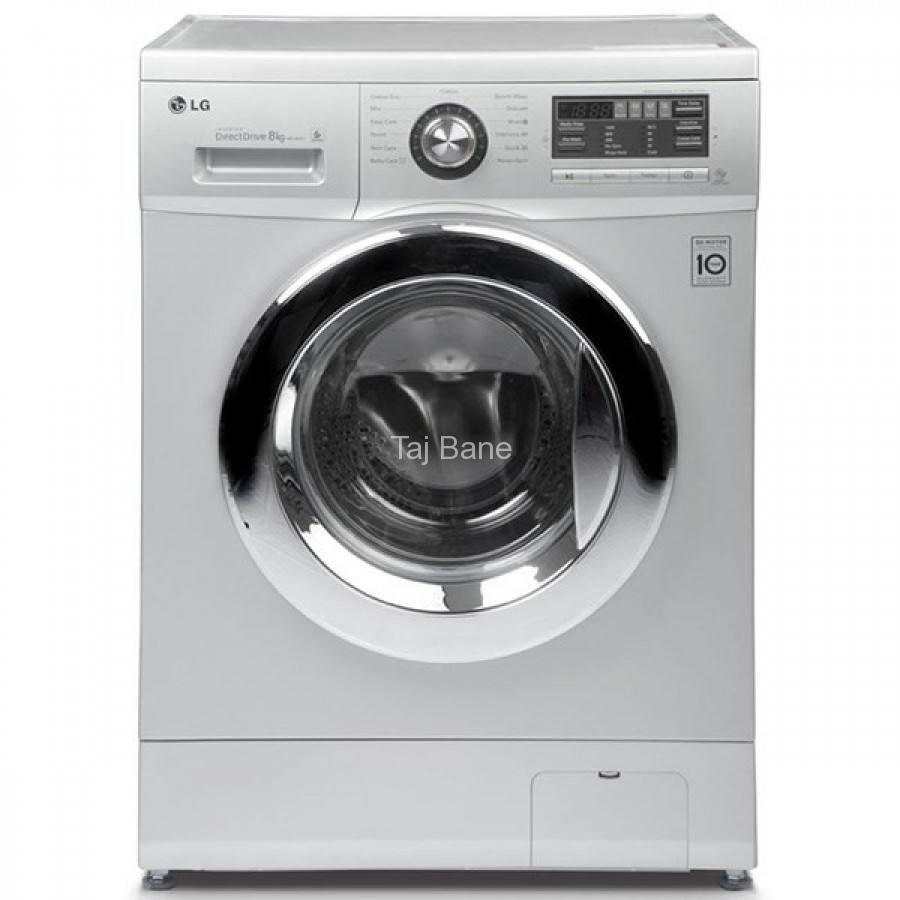 ماشین لباسشویی 8 کیلویی 1400دور ال جی LG W961446TC WASHING MACHINE INVERTER