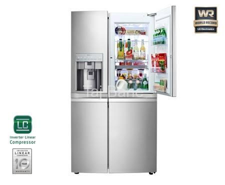 یخچال ساید بای ساید ال جی LG REFROGERATOR SIDE BY SIDE DOOR IN DOOR GR-J317