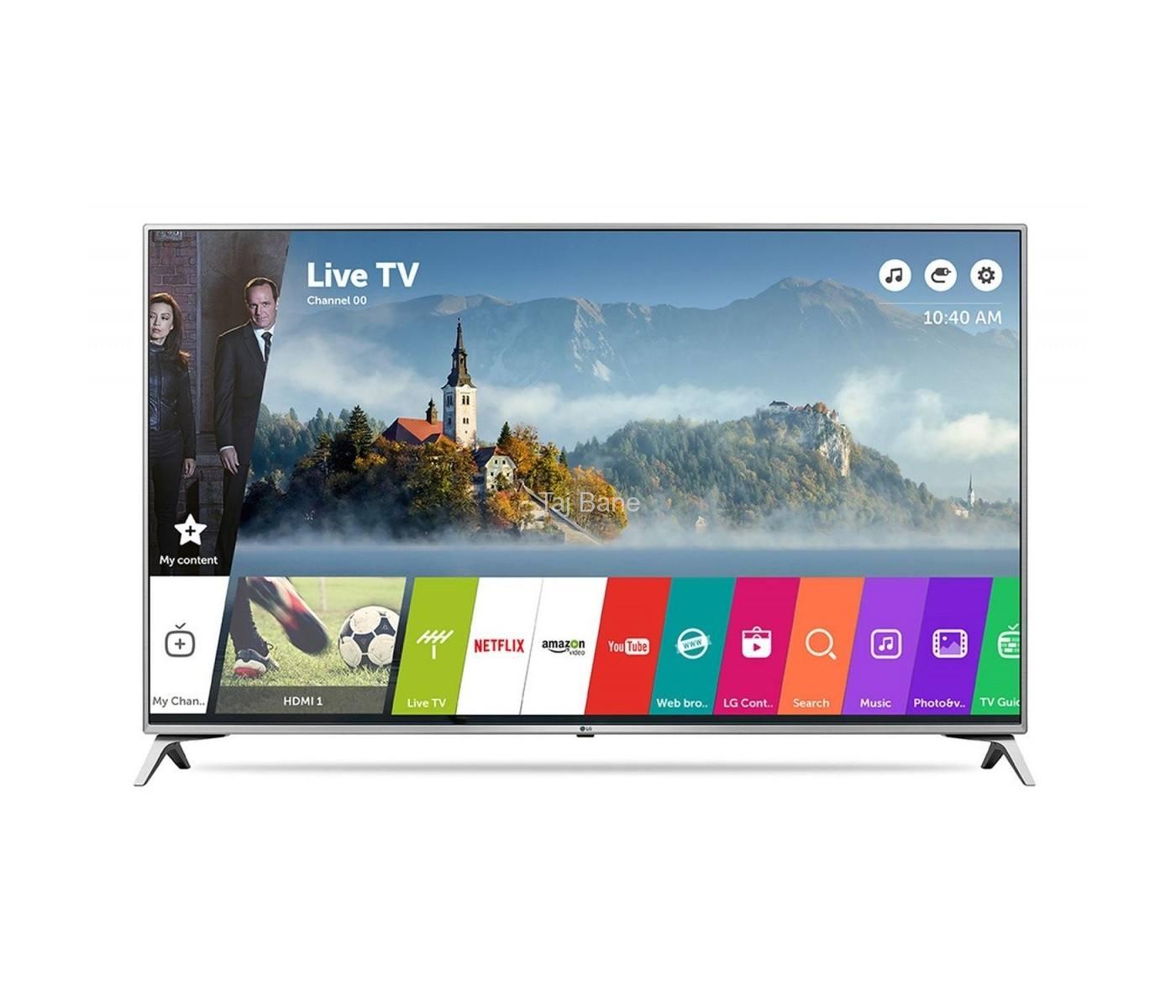 LG TV 60UJ651V  فورکی الترا اچ دی ال جی