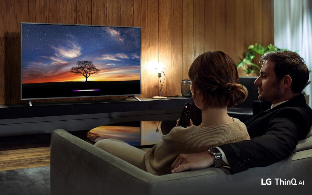 تلویزیون 55 اینچ ال جی LED مدل UM7100