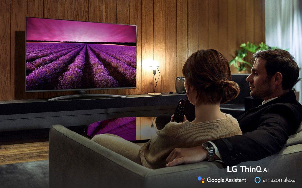 تلویزیون 55 اینچ ال جی LED مدل SM8100