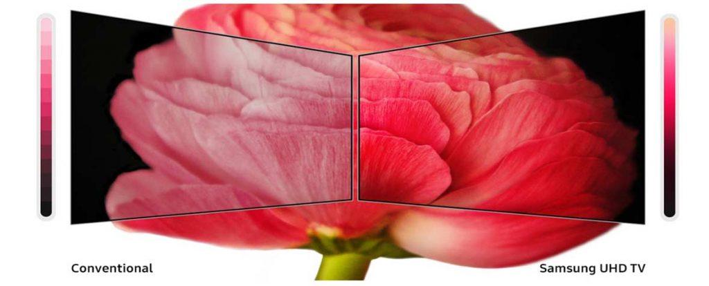 فناوری PurColor تلویزیون 50اینچ سامسونگ 55RU7100