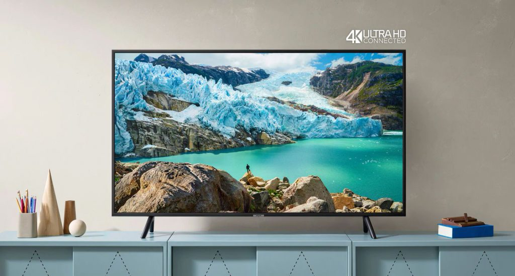 طراحی و دیزاین تلویزیون سامسونگ RU7100