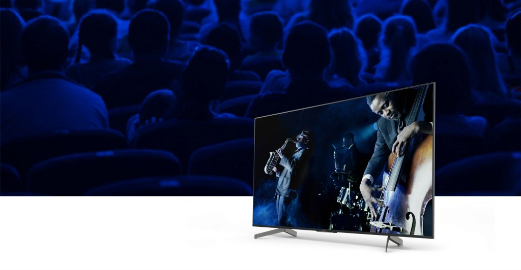 سیستم صوتی تلویزیون 55اینچ سونی 55X8500G