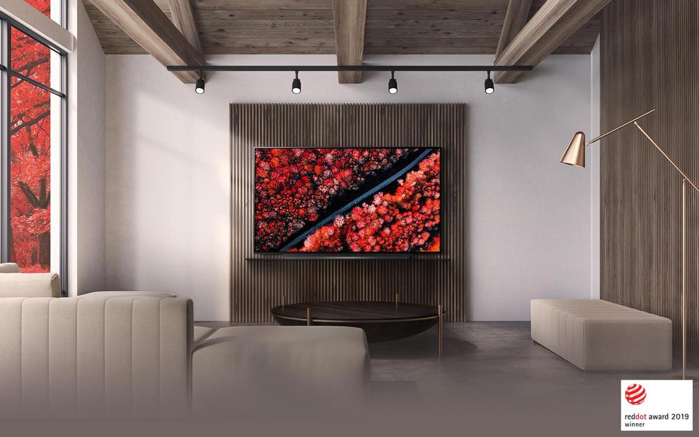 تلویزیون 65 اینچ OLED ال جی LG 4K HDR OLED C9 ساخت اروپا