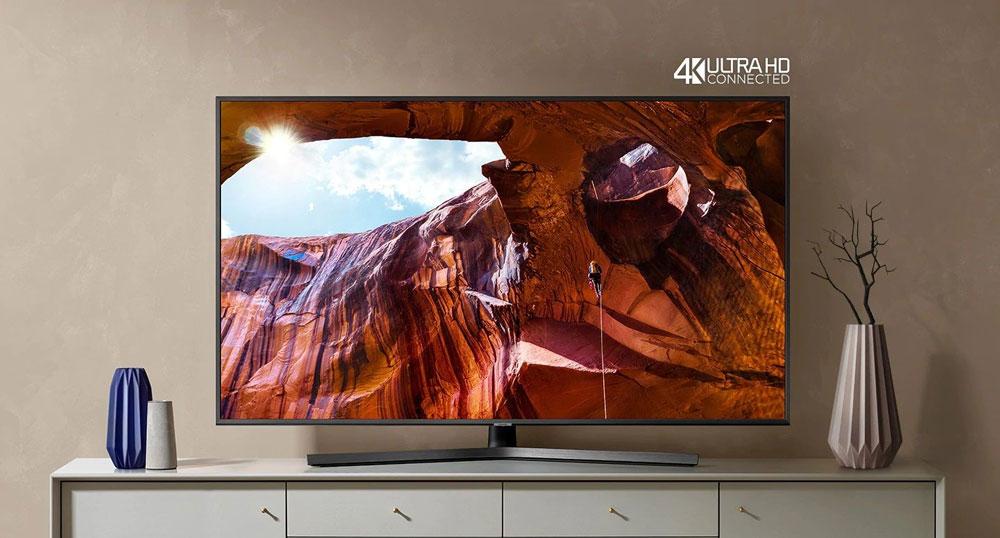 طراحی تلویزیون 65اینچ سامسونگ 65RU7400
