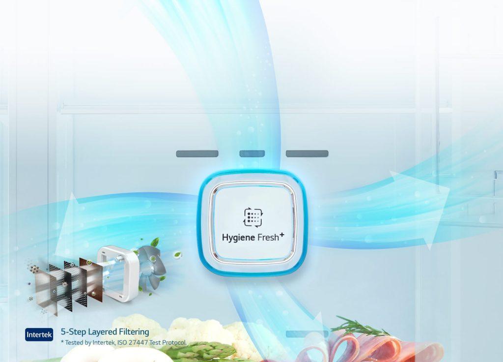 فیلتر بهداشتی + یخچال ساید بای ساید ال جی